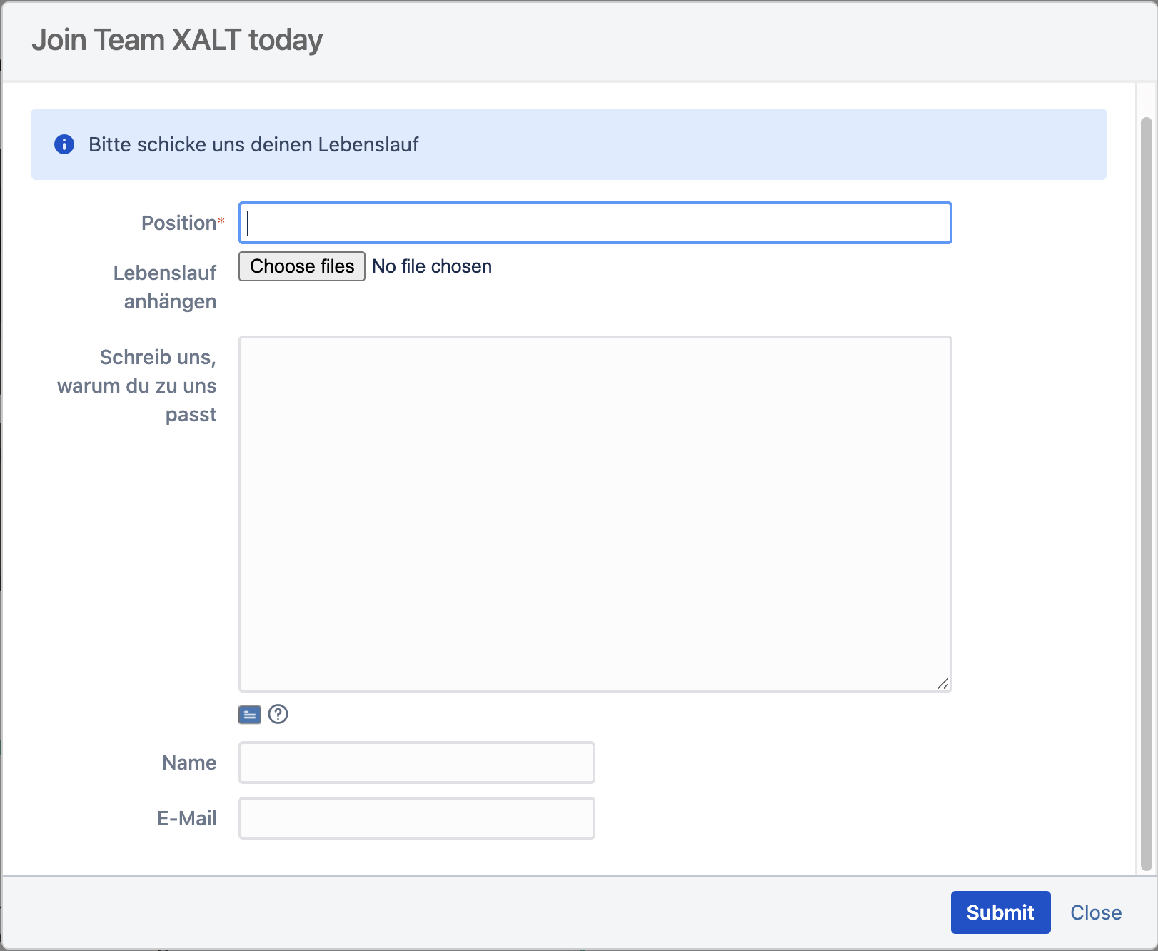 Jira Issue collector preview