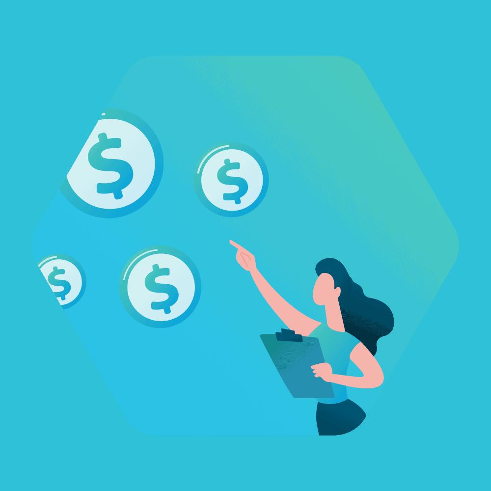 Saving costs through digitization