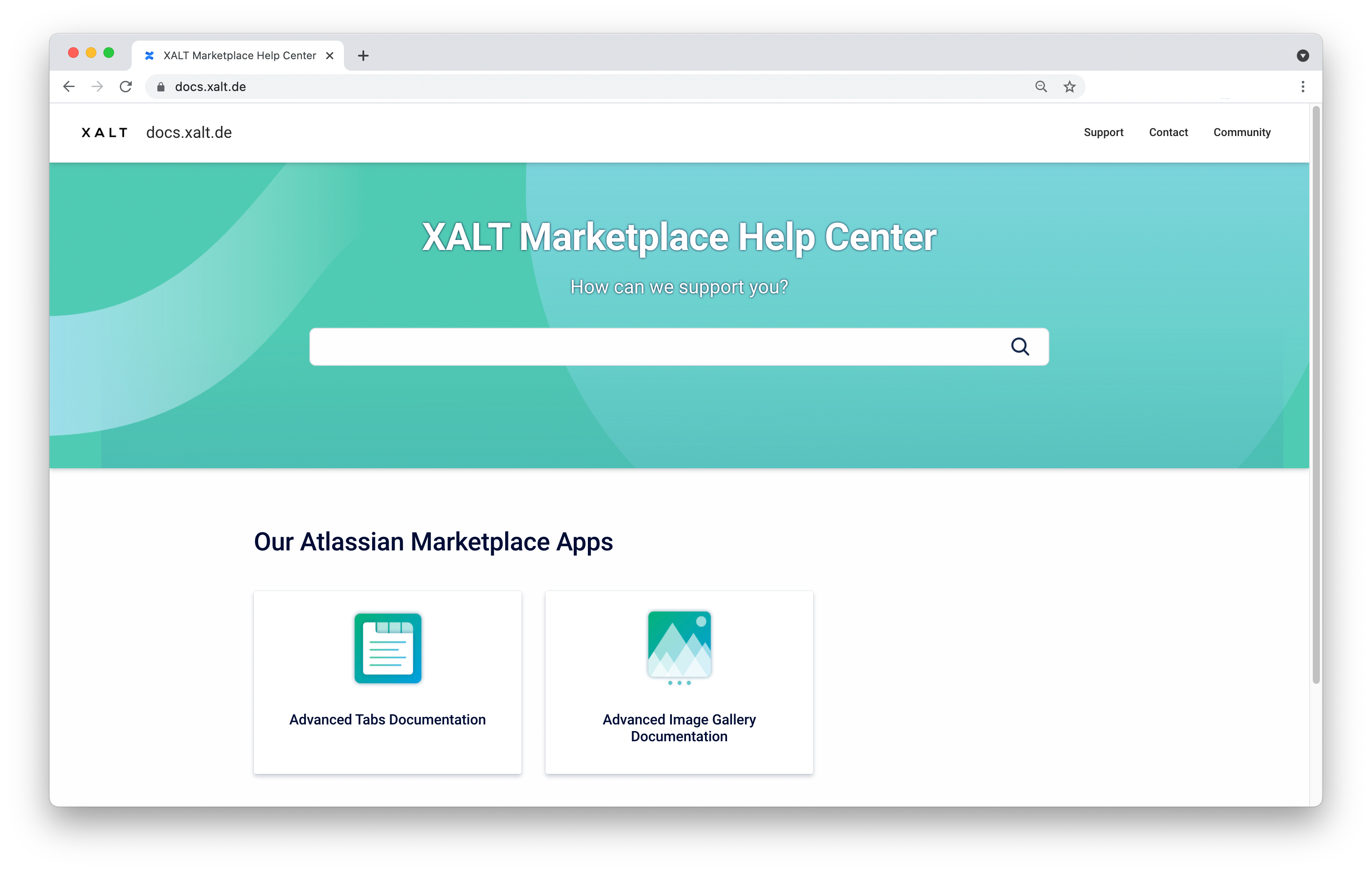 xalt_confluence_help_center_2