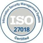XALT ISO-27018 Zertfikat