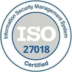 XALT ISO-27018 certificate